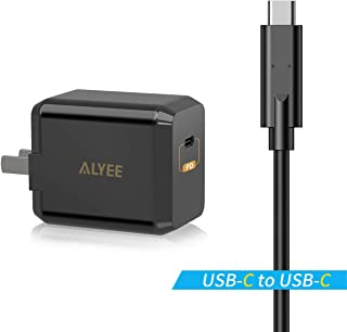 USB C Wall Charger, Type C Fast Charger, 28W PD Wall Charger with Foldable Plug&3.3FT USB-C Cable, Compatible with MacBook Pro/Air 2018, iPad Pro 2018, iPhone XS/Max/XR/X/8/7/Plus, Galaxy S9/S8, etc
