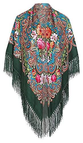 Lzpzz Las Mujeres Bufandas, Moda Mujer Musulmana Suave Larga Bufanda del Abrigo del mantón de Las señoras de pañuelo de Gasa estolas para Mujer Delgada Larga Suave mantón Wrap (Color : J)
