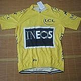 Ciclo De Honor De Un Ciclo Jersey Líder Ganador del Tour De Francia Maillot Transpirable Ropa De La Bici MTB Ropa Ciclismo Zzzb (Color : Yellow, Size : L)