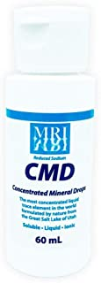 Concentrated Mineral Drops (CMD). 60ML. The Most Concentrated Liquid Trace Element in the World