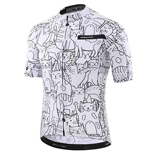 YYDM Maillot De Ciclismo De Bicicleta De Montaña - Maillot De Ciclismo...