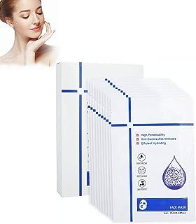 Hyaluronzuur gezichtsmasker Vochtinbrengend gezichtsmasker voor droge huidmasker Poriënkrimpend masker Zacht en niet-comed...