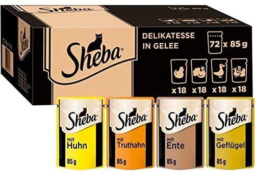 Sheba PB MP Gefleugel IN Gelee 72X85g ECOM