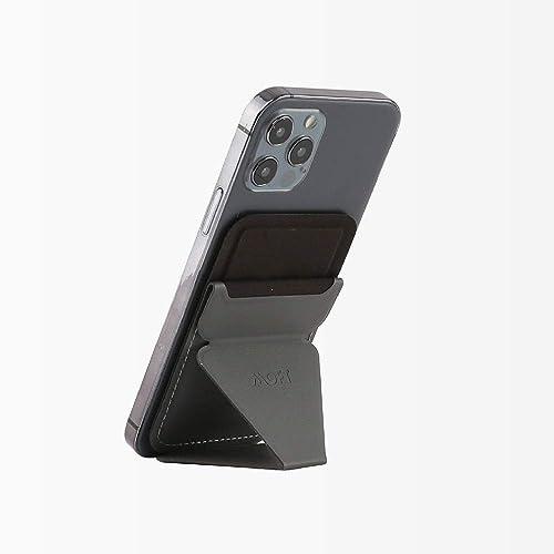 MOFT iPhone12 MagSafe対応 ウォレット&スタンド - グレー