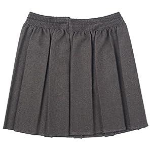 Nueva Ou Niñas uniforme escolar caja plisado elástico Falda Schoolwear tamaño 2–17yrs 1