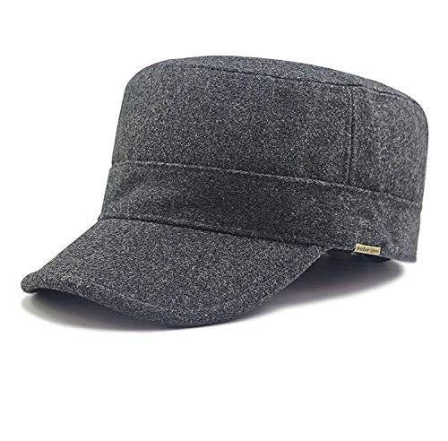 Gorras De Hombre Sombrero Sombrero Plano De Gran Tamaño Sombrero De Cabeza...