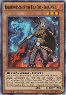 Yu-Gi-Oh! - Brotherhood of the Fire Fist - Leopard (MP14-EN013) - Mega Pack 2014 - 1st Edition - Common by Yu-Gi-Oh!