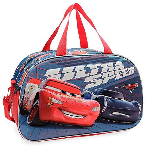 Disney Cars Ultra Speed Borsa da viaggio Multicolore 45x28x21 cms Poliestere 26.46L