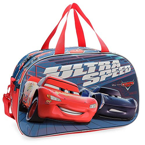 Disney Bolsa de viaje Cars Ultra Speed 45cm frontal 3D