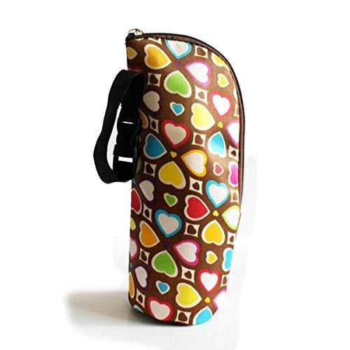 Keysui Baby Warmhaltebox Kühltasche Babyflasche Thermotasche Isoliertasche Tasche für Spaziergänger und Windel-Tasche