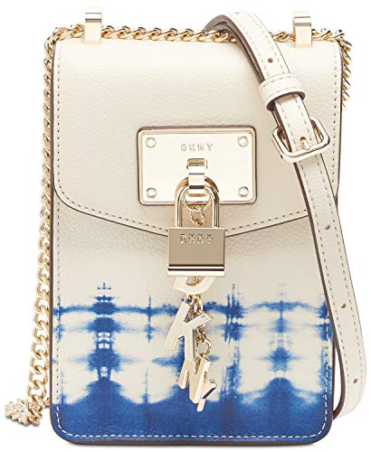 DKNY Elissa Leather Tie-Dyed Crossbody