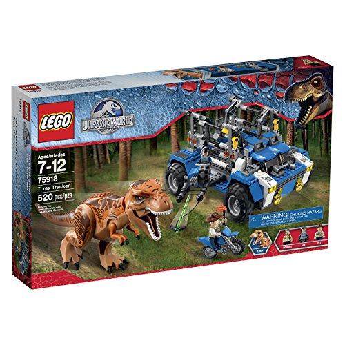 LEGO Jurassic World T. Rex Tracker 75918 Building Kit by LEGO