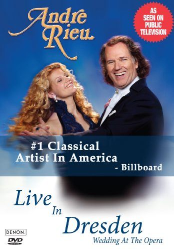 RIEU,ANDRE LIVE IN DRESDEN WEDDING AT THE OPERA