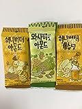 「お試しサイズ 食べ比べ ハニーバターシリーズ3個セット(アーモンド・カシューナッツ・わさび味アーモンド)」の画像