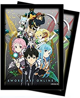 "Official Sword Art Online 2 ""Excalibur"" Standard Size Deck Protector Sleeves (50 count)"