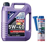 Liqui Moly Premium 5W-40 Synthetic Motor Oil & Jectron Fuel Injection Cleaner Combo 2041 2007