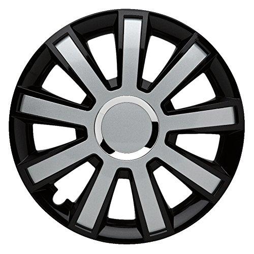 Flash Black Silver–14pulgadas, apta para casi todas las Peugeot, por ejemplo para 106S1sin airbag lateral