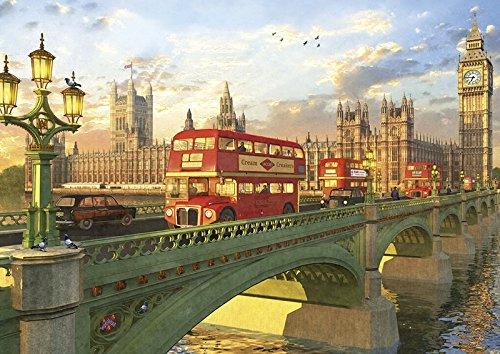 Puzzle Puente de Westminster, 2000 Piezas, Color (16777.0)