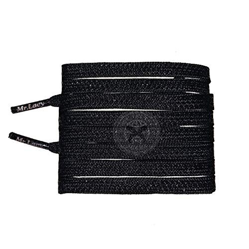 Hexagrip Performance Football Laces - size Black