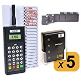 Restaurant Server System Kit with 5 Pagers…