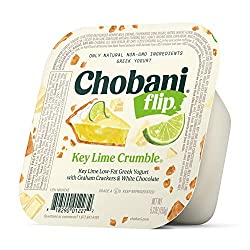 Chobani Flip Low-fat Greek Yogurt, Key Lime Crumble, 5.3 Ounce