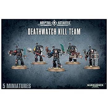 GAMES WORKSHOP 99120109001  Warhammer 40,000 Deathwatch Kill Team Action Figure