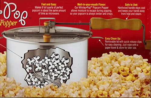 New The Original Whirley-Pop 3-Minute Popcorn Popper