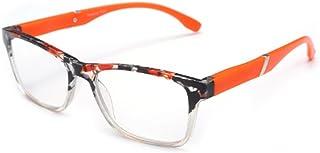 Aiweijia Spring Hinges Vintage Reading Rectangular bicolor frame design Eyewear