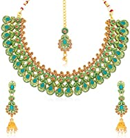 Sukkhi Jewellery Jewellery Set for Women (Golden) (N78024)
