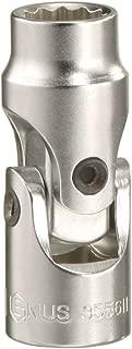 Genius Tools 253507 1/4 Dr. 7mm Universal Hand Socket (12 Point)