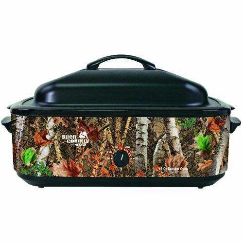 Open Country 4818-17 Roaster Oven, 18 quart, Woodland Birch Camo