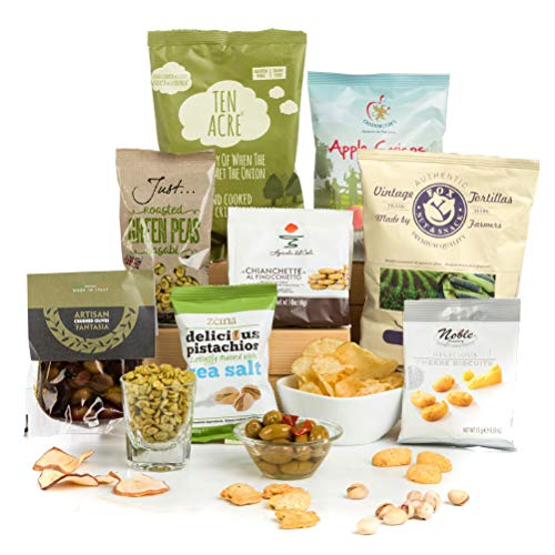 Hay Hampers Savoury Snack Attack! Vegetarian Hamper Box Free UK Delivery.