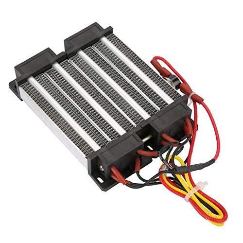 Calentador de aire PTC, calentador de aire de cerámica de baja resistencia térmica, calentador eléctrico de 110 V / 220 V para aire acondicionado(110V1000W)