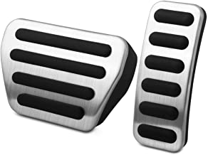 VCiiC No Drill Gas Pedals Cover for Range Rover Sport 2014+ Land Rover Discovery 5 Brake pad Accessories