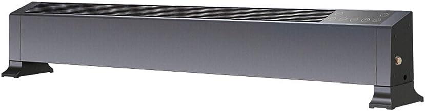 AJH Calentador Remoto de calefacción con Control Remoto 2200W - Calentador con función de Bloqueo para convector Infantil Convector eléctrico con zócalo eléctrico Ip22 Impermeable,