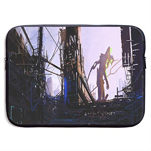Laptop Sleeve Case Neon Genesis Evangelion Resistant Neoprene Notebook Computer Pocket for 13-15 Inch MacBook Pro/MacBook Air/Notebook Computer