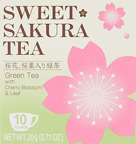 1x SWEET CHERRY Tee (Tee Tasche 2G × 10P) Sakura grün Tee