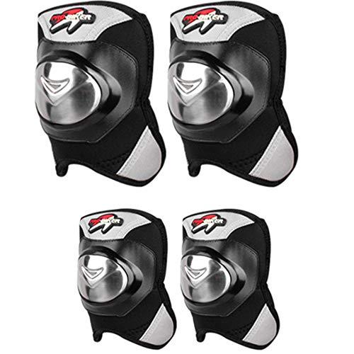 XUYIN Motorrad-Reiten-Schutzausrüstung Außenextremsport Schutzausrüstung Legierter Stahl-Material, Das Geeignet Vier-Teiliges Set Für Off-Road-Motorrad Wandern Fußball Eishockey Skifahren