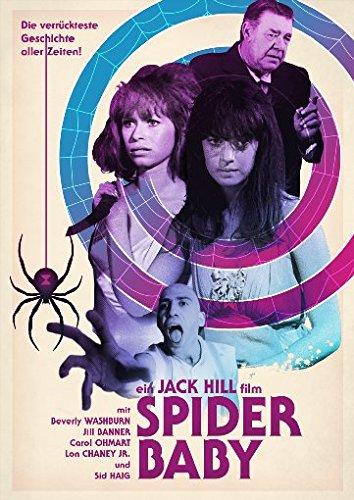 Spider Baby - Limited Edition - Jack Hills herausragender Horrorklassiker erstmals in deutscher Sprache! (+ DVD) [Blu-ray]