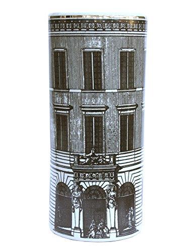 Geko Paragüero de cerámica, diseño monocromático de construcción