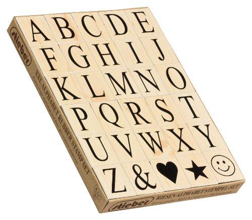 stieber Riesen Alphabet-Stempelset