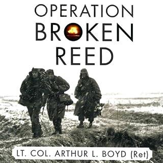 Operation Broken Reed audiobook cover art