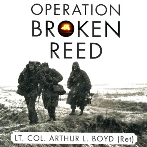 Operation Broken Reed audiobook cover art