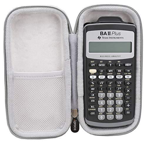 AprocAproca Duro Viajes Bolso Caso Funda para Texas Instruments BAII PLUS Calculadora financiera