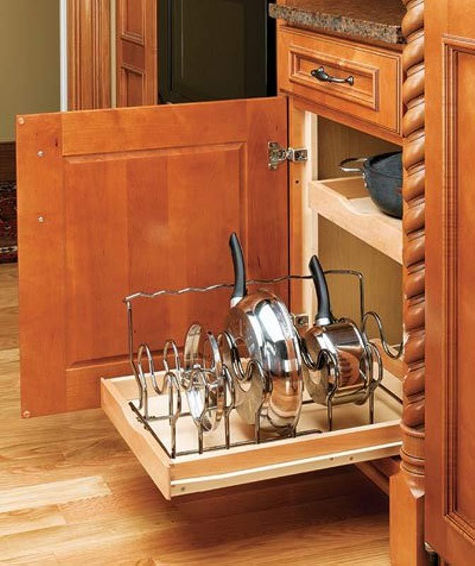 Rev A Shelf Cookware Organizer Drop In Chrome