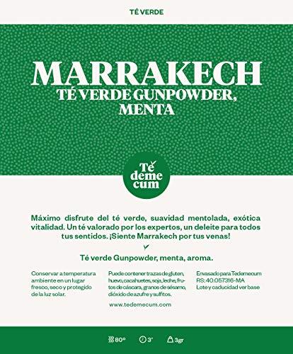 MARRAKECH Gourmet 250gr. Té verde gunpowder, menta, aroma.