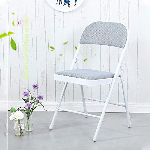 smzzz Wohnzimmer Klappstuhl,Klappstuhl -bis 150 kg belastbar – für Garten, Terrasse und Haus, Stuhl zum Aufhängen