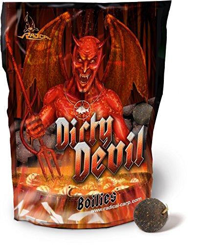 Quantum Dirty Devil Boilies 1kg, Karpfenköder, Angelköder, Köder zum Karpfenangeln, Durchmesser:16mm