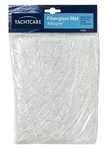 SOLOPLAST 137189 Mat de verre 450 g/m, Blanc