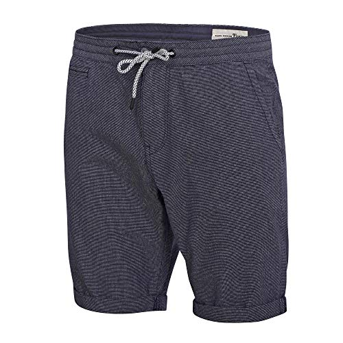TOM TAILOR Denim Herren Chino Shorts, 12042-Blue A Fil, L